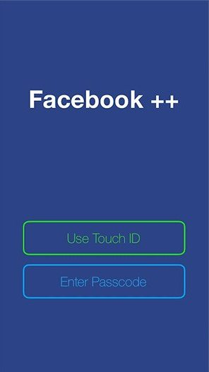 Facebook ++ for iphone