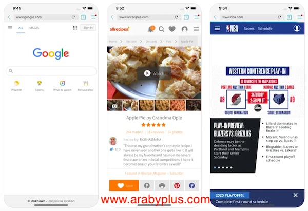 تحميل Puffin Browser Pro للايفون